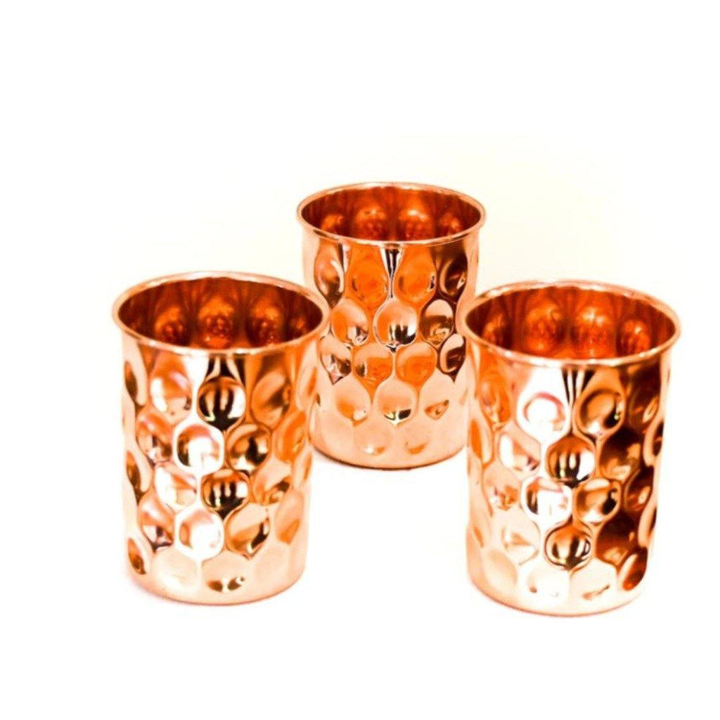 Diamond Copper Water Cups - the five clouds