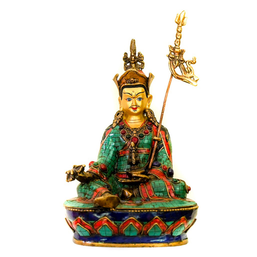 Guru Rinpoche - the five clouds