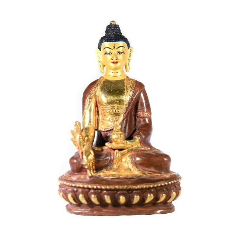Buddha Shakyamuni Statue - the five clouds