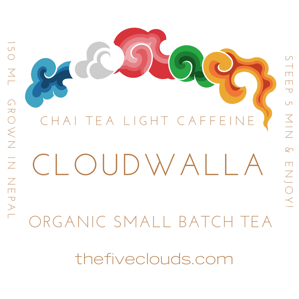 Chai Tea Set of 2 Teas - the five clouds