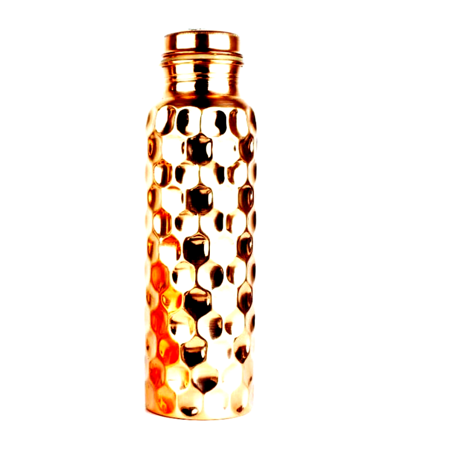 Copper Diamond Water Bottle - the five clouds