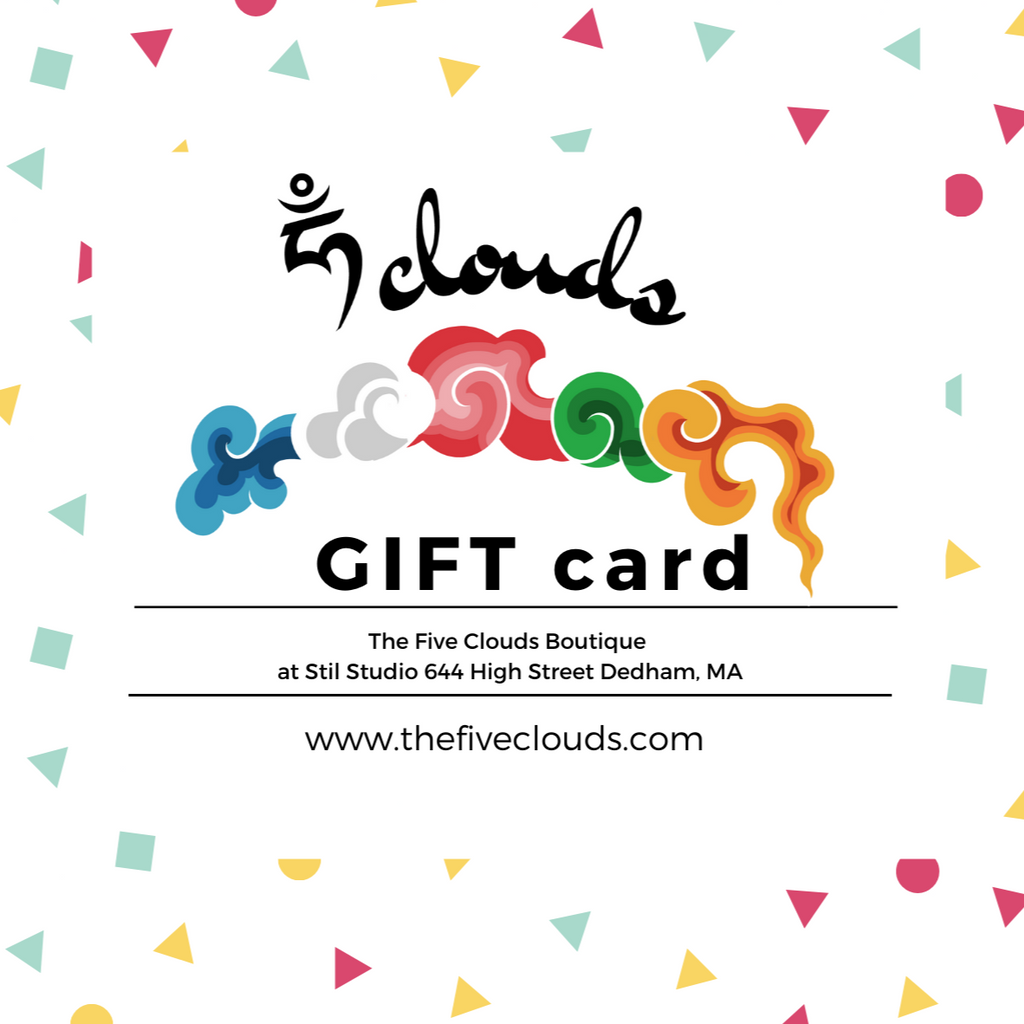 Gift Cards - the five clouds
