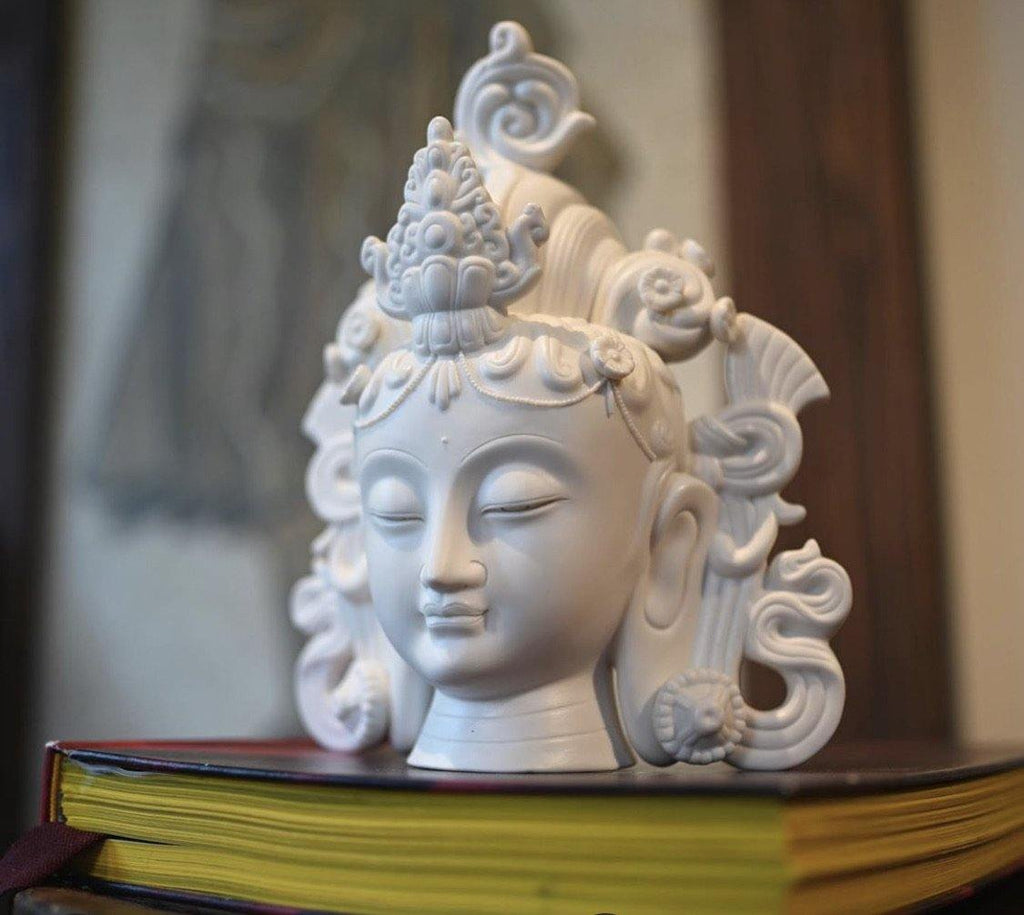 Porcelain Tara Statue - the five clouds