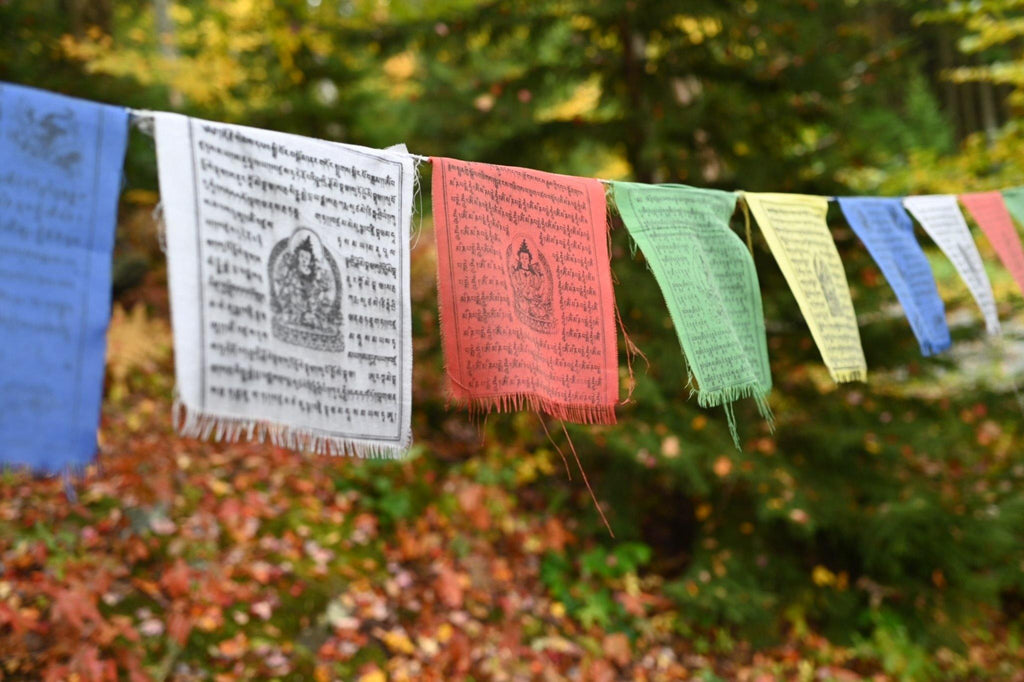 Prayer Flags - the five clouds