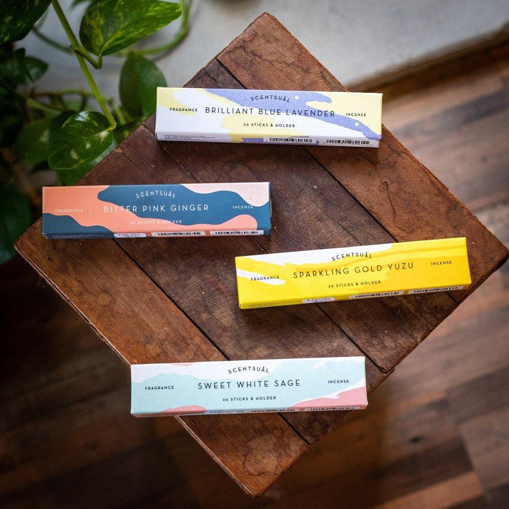 Scentual Japanese Incense - the five clouds