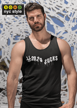 Men 2020 Sucks Grafix Tank Top