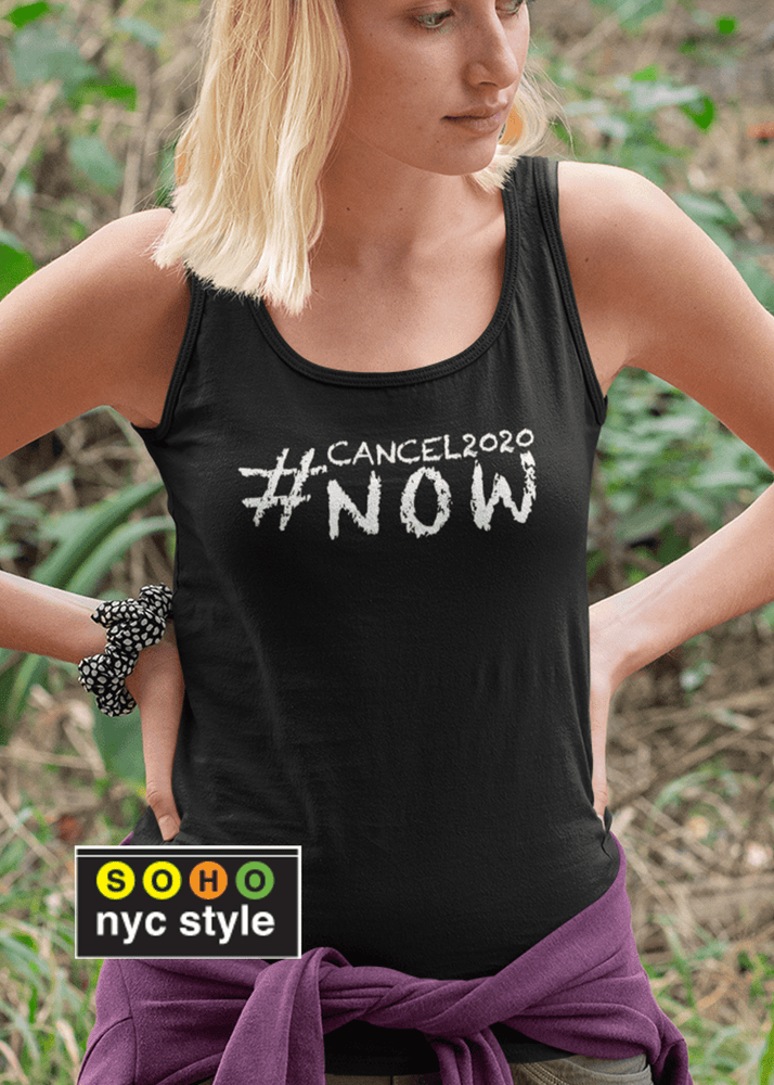 Women #Cancel2020 Grafix Tank Top