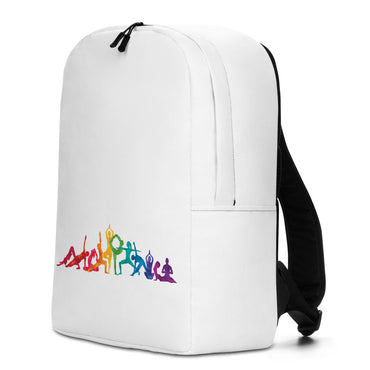 "Minimalist Backpack With ""Yoga Multiple Poses Grafix"""
