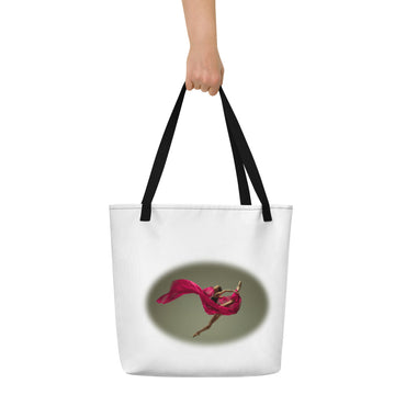"Beach Bag With ""Dance Big Jump Graphix"""