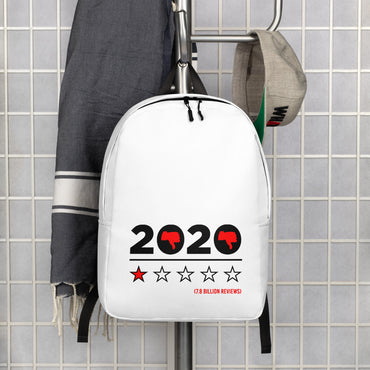 "Minimalist Backpack With ""2020 Has Been Hell Grafix"""