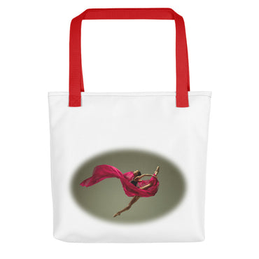 "Tote Bag With ""Dance Big Jump Graphix"""