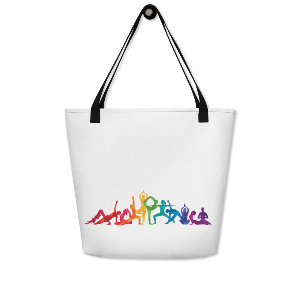"Beach Bag With ""Dance Multiple Pose Graphix"""