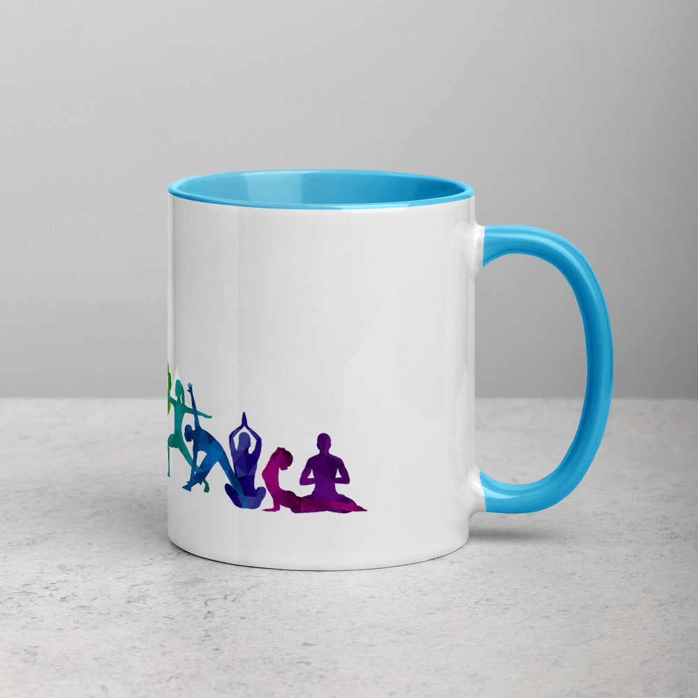 "Coffe Cup With Color Lip And ""Dance Multiple Pose Graphix"""""