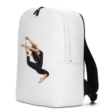 "Minimalist Backpack With ""Jumping Dancer Grafix"""