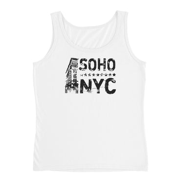 Women SoHo NYC Vintage Graphix Tank Top
