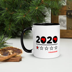 "Coffe Cup With Color Lip And ""2020 Has Been Hell Grafix"""