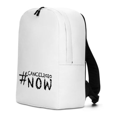 "Minimalist Backpack With ""#Cancel2020 Grafix"""
