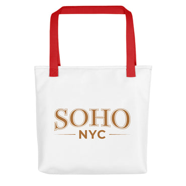"Tote Bag With ""SoHo NYC Classic Graphix"""