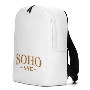 "Minimalist Backpack With ""SoHo NYC Classic Grafix"""
