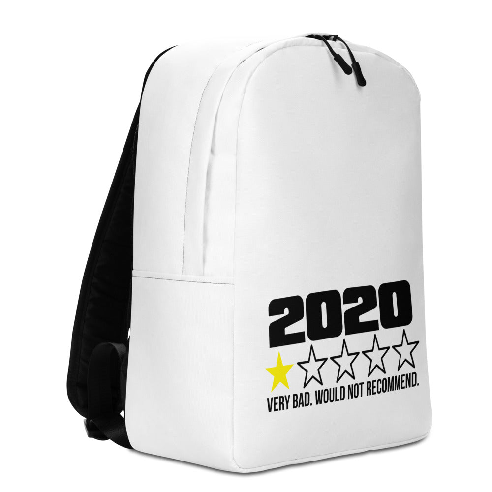 "Minimalist Backpack With ""2020 No Stars"" Grafix"