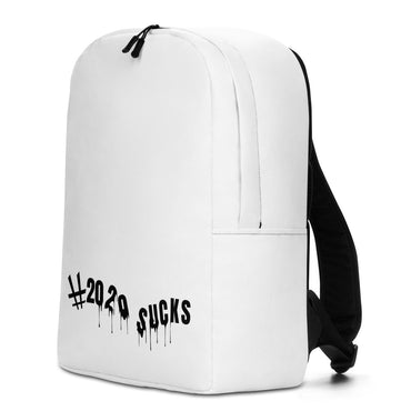 "Minimalist Backpack With ""2020 Sucks"" Grafix"