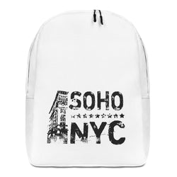 "Minimalist Backpack With ""Vintage SoHoNYC Grafix"""