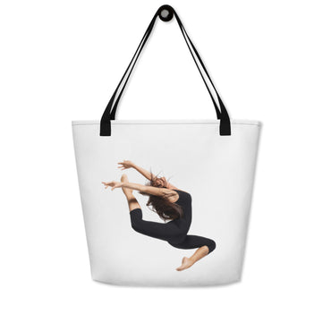 "Beach Bag With ""Dance Jump Graphix"""