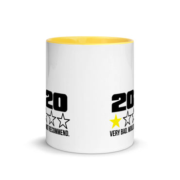 "Coffe Cup With Color Lip ""2020 No Stars Grafix"""