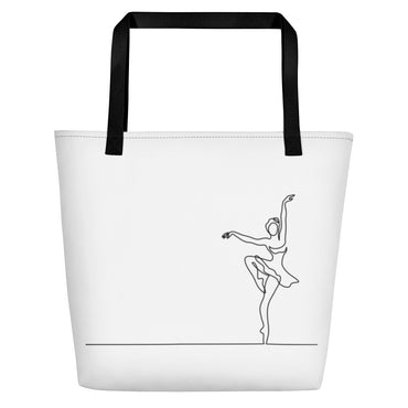 "Beach Bag With ""Dance Pique Graphix"""
