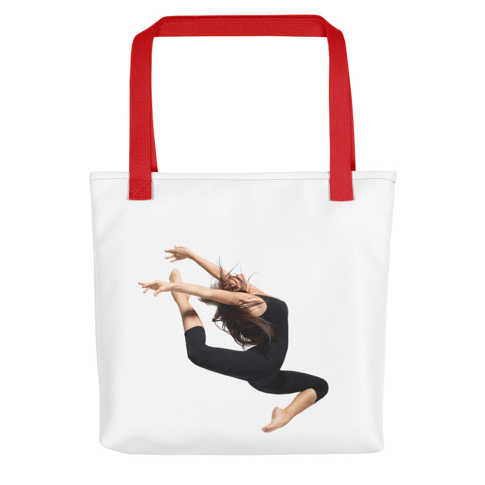 "Tote Bag With ""Dance Jump Graphix"""