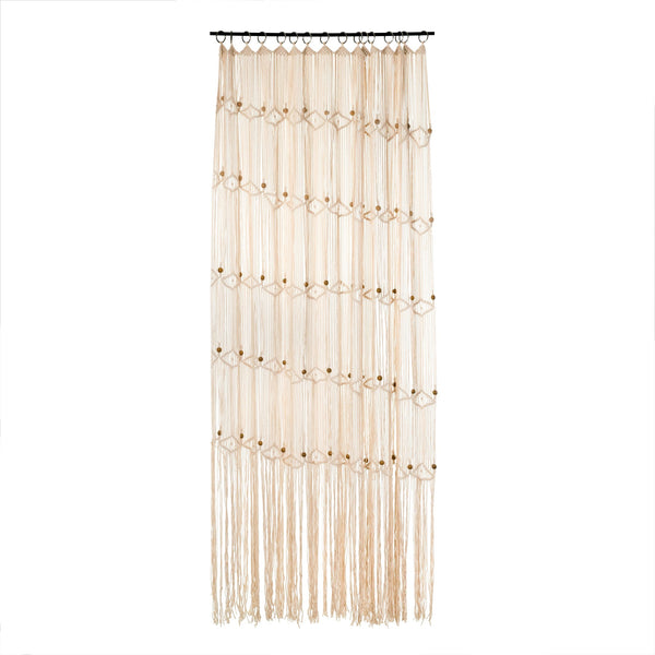 Macrame Hand Knit Curtain