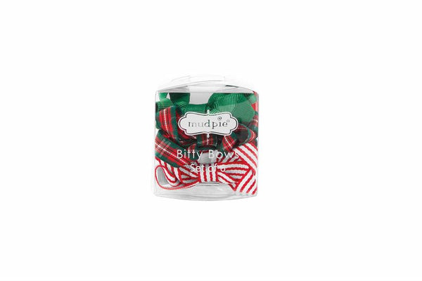 Holiday Bitty Hair Bow Set