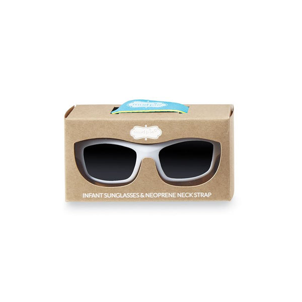White Kid Sunglasses