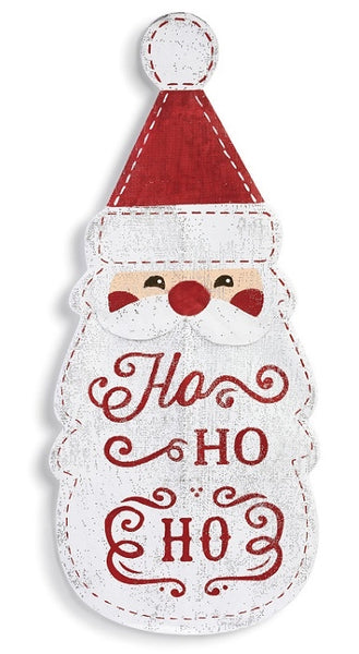 Ho Ho Ho Santa Head Door Hanger