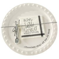 Cookie Plate Serving Set