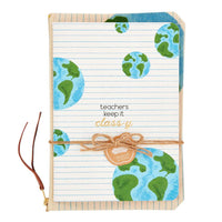 Teacher Notebook & Pouch Set, 3 Styles