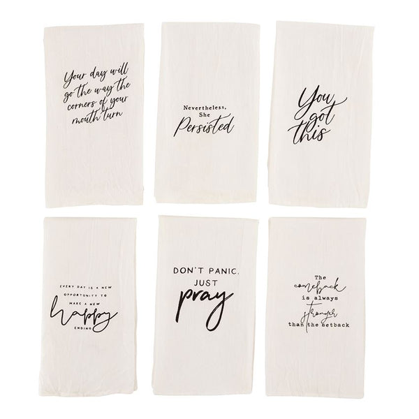 Positive Sentiment Towels