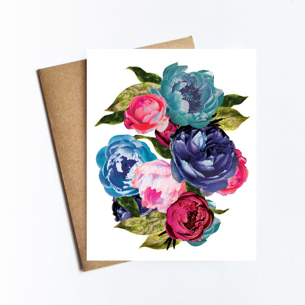 Rocker Flowers Card