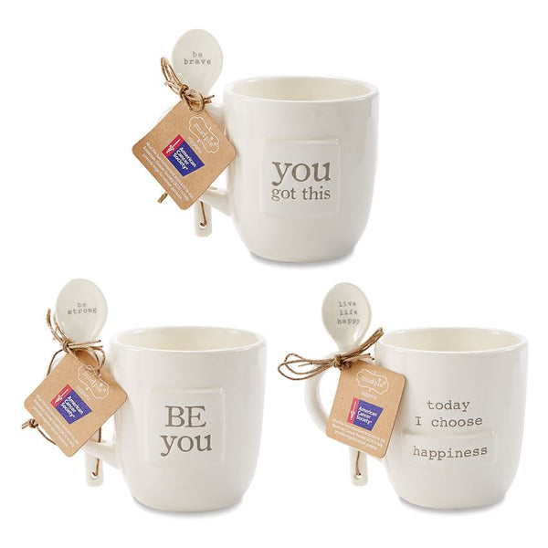Ceramic Pazitive Mug Set
