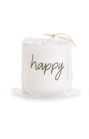 Happy Bagged Candles