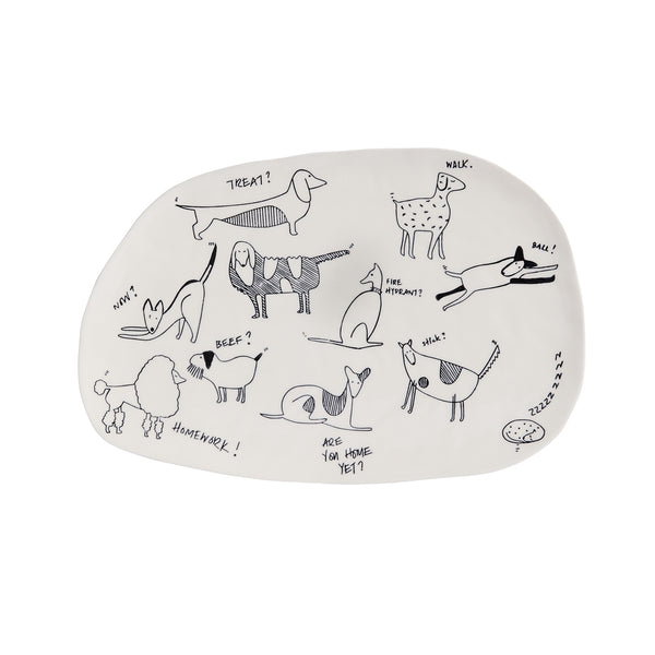 Bow Wow Collection Platter