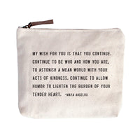 My Wish For You Canvas Bag