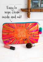 Sunshine Make-Up Bag