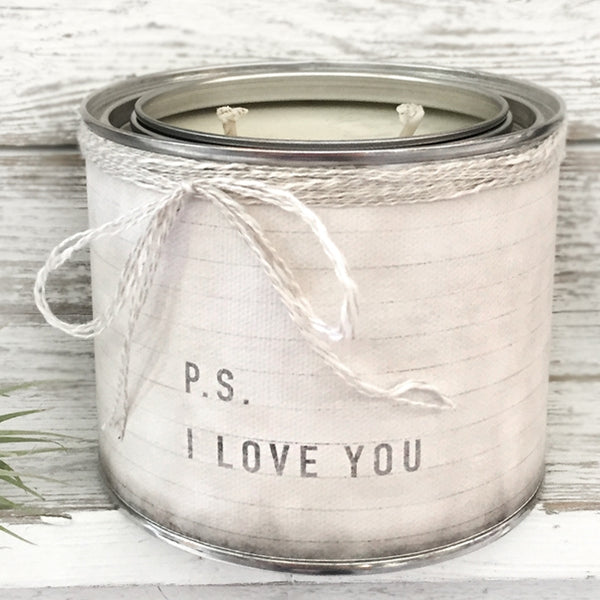 P.S. I Love You Candle