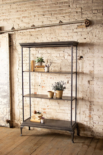 Metal Shelving Unit