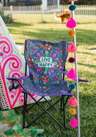 Live Happy Camp Chair