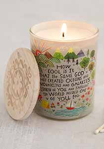 How Cool Is God Soy Giving Candle