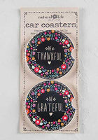 Be Thankful Car Coaster Set