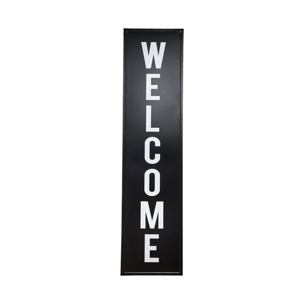Tall Metal Welcome Sign