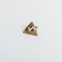 Iridescent Triangle Ring